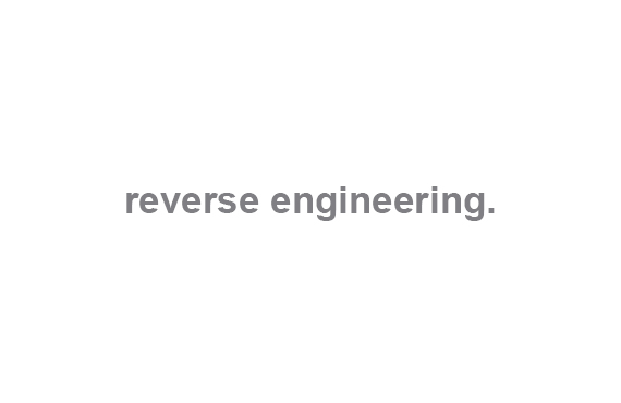 Metropolis Design and Prototyping Slide 13 - Reverse Engineering.