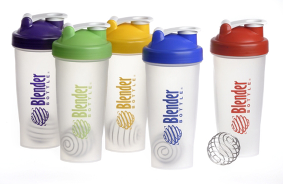 Sundesa Blender Bottle Industrial Design Slide 2- Marketing Photo of Several Blender Bottles