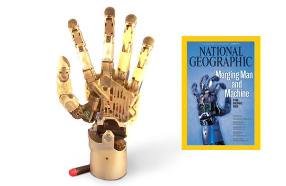Experience Slide 1 - Kinea Robotic Hand on National Geographic