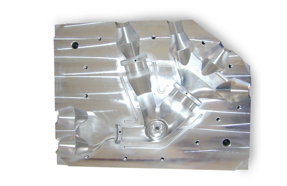 Delta 7 CNC Machining Slide 4 - Machined Injection Mold